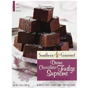 Southern Gourmet Divine Chocolate Fudge Supreme Premium Mix Kit, 12 oz, (Pack of 6)