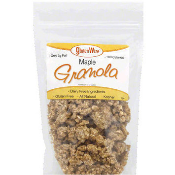 GlutenWize Maple Granola, 12 oz, (Pack of 8)