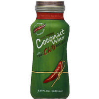 Taste Nirvana Real Happy Coconut Water with Thai Chili Extract, 9.5 fl oz, (Pack of 12)