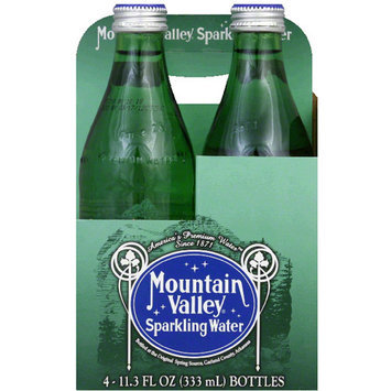 Mountain Valley Sparkling Water, 45.2 fl oz, (Pack of 6)