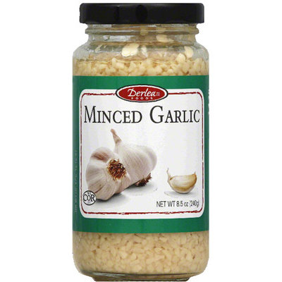 Derlea Minced Garlic, 8.5 oz, (Pack of 12)