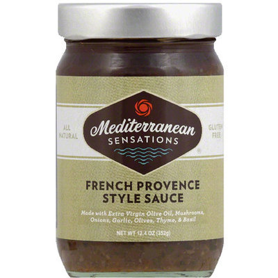 Mediterranean Sensations French Provence Style Sauce, 12.4 oz, (Pack of 6)
