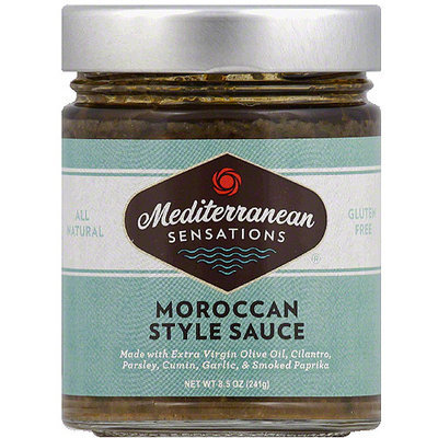 Mediterranean Sensations Moroccan Style Sauce, 8.5 oz, (Pack of 6)
