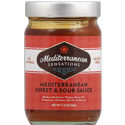 Mediterranean Sensations Mediterranean Sweet & Sour Sauce, 11.8 oz, (Pack of 6)