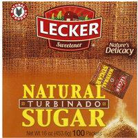 Lecker Natural Turbinado Sugar, 16 oz, (Pack of 12)