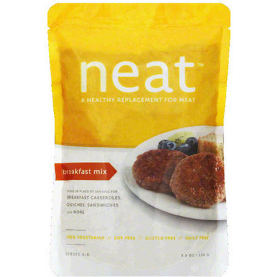 Neat Meat Replacement Breakfast Mix, 5.5 oz, (Pack of 6)