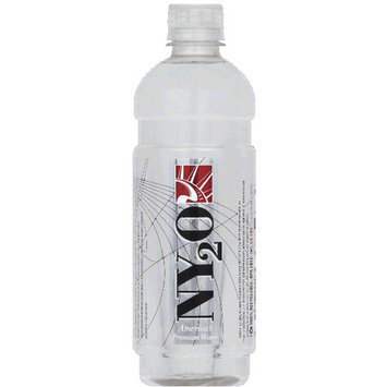 NY2O Water, 16.9 fl oz, (Pack of 24)