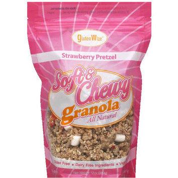 GlutenWize Strawberry Pretzel Soft & Chewy Granola, 12 oz, (Pack of 8)
