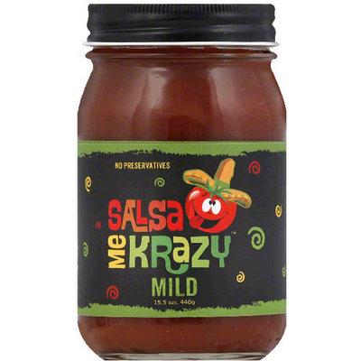 Salsa Me Krazy Mild Salsa, 15.5 oz, (Pack of 6)
