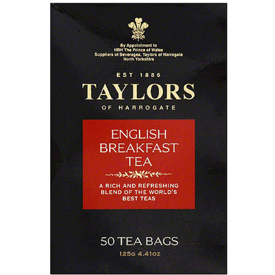 Taylors of Harrogate English Breakfast Tea Bags, 50 count, 4.41 oz