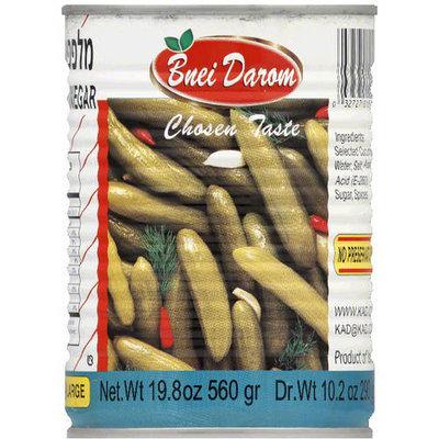 Lieber's Bnei Darom Cucumbers in Vinegar, 19.8 oz, (Pack of 12)