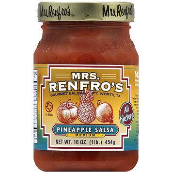 Mrs. Renfro's Medium Pineapple Salsa, 16 oz, (Pack of 6)