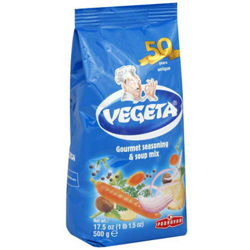 Vegeta Gourmet Seasoning & Soup Mix, 17.5 oz, (Pack of 12)
