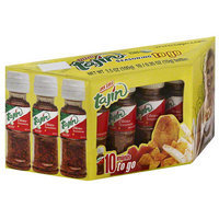 Tajin Mini To Go Seasoning with Lime, 0.35 oz, 10 count (Pack of 24)