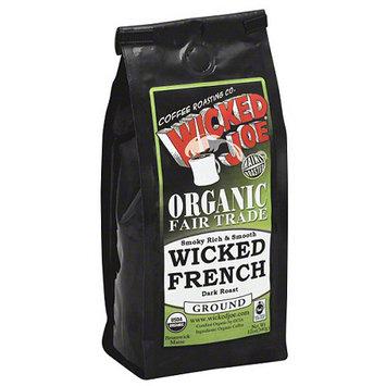 Wicked Joe Coffee Wicked Joe Wicked French Medium Roast Ground Coffee, 12 oz, (Pack of 6)