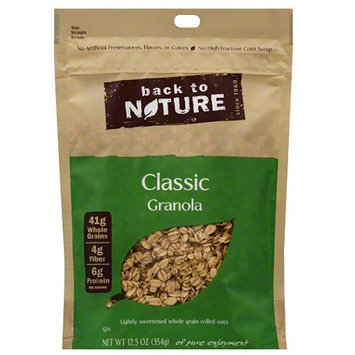 Back to Nature Classic Granola, 12.5 oz, (Pack of 6)