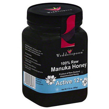 Wedderspoon 100% Raw Manuka Honey, 17.6 oz