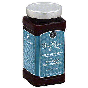 Big Slice Blueberry Pomegranate Kettle Cooked Apples, 19 oz, (Pack of 6)