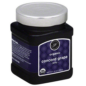 Grandma Hoerners Grandma Hoerner's Organic Concord Grape Jelly, 14 oz, (Pack of 6)