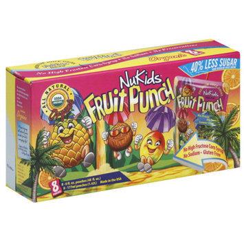 NuKids Fruit Punch Juice Drink, 48 fl oz, (Pack of 4)