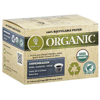 White Coffee Organic Copenhagen Medium Roast Coffee, 0.35 oz, 10 count (Pack of 4)