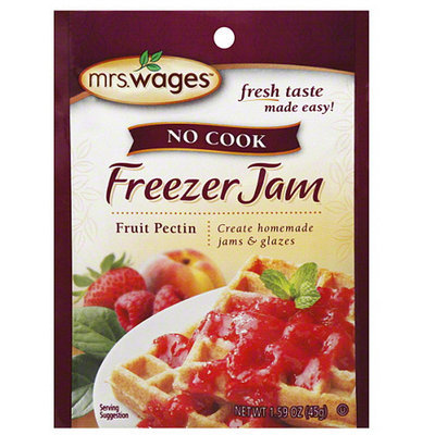 Mrs. Wages No Cook Freezer Jam Mix, 1.59 oz (Pack of 12)