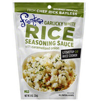 Frontera Garlicky White Rice Seasoning Sauce, 8 oz, (Pack of 6)