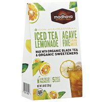 Madhava Honey Madhava AgaveFIVE Iced Tea Lemonade Drink Mix, 1.04 oz, (Pack of 6)