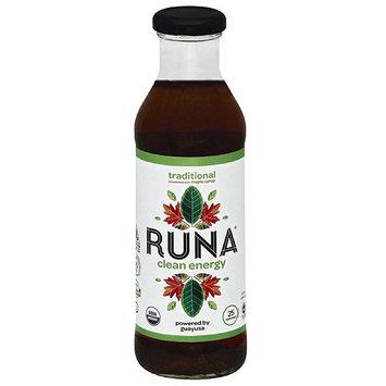 Runa Clean Energy Drink, 14 fl oz, (Pack of 12)