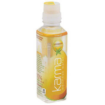 Karma Wellness Water Karma Pineapple Coconut Wellness Water, 18 fl oz, (Pack of 12)