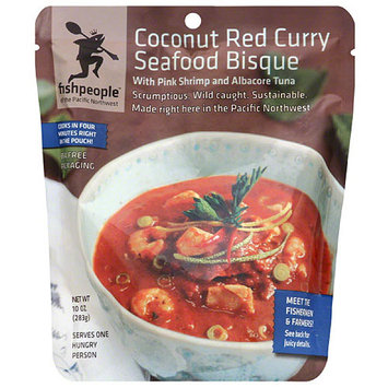 Fishpeople Coconut Red Curry Seafood Bisque Soup, 10 oz, (Pack of 12)