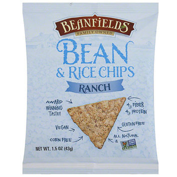 Beanfields Ranch Bean & Rice Chips, 1.5 oz, (Pack of 24)
