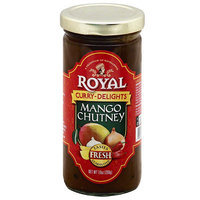 Royal Curry-Delights Mango Chutney, 10 oz (Pack of 6)