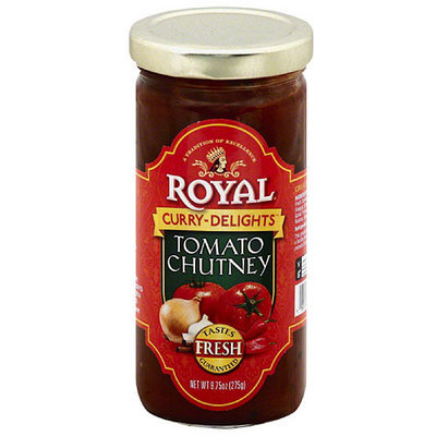 Royal Curry Delights Tomato Chutney, 9.75 oz, (Pack of 6)