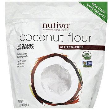 Nutiva Coconut Flour, 1 lb (pack of 6)