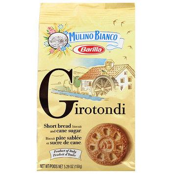 Mulino Bianco Barilla Girotondi Short Bread Biscuit and Cane Sugar, 5.29 oz, (Pack of 10)