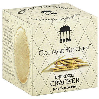 Cottage Kitchen Undressed Crackers, 5 oz, (Pack of 12)