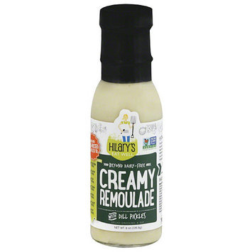 Hilary's Eat Well Creamy Remoulade with Dill Pickles Salad Dressing, 8 oz, (Pack of 6)