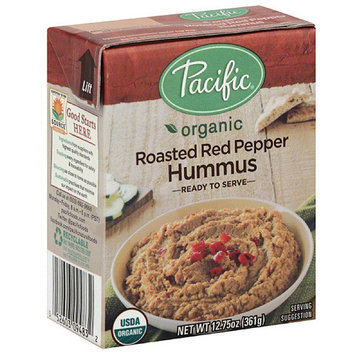 Pacific Foods Pacific Organic Roasted Red Pepper Hummus