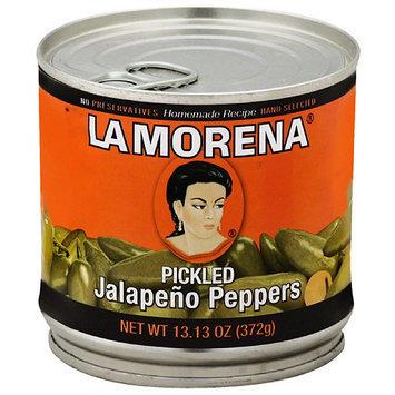 La Morena Pickled Jalapeno Peppers, 13.13 oz, (Pack of 12)