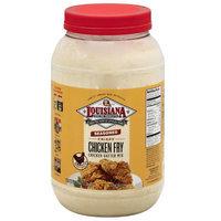 Louisiana Fish Fry Products Seasoned Crispy Chicken Fry Batter Mix, 5.25 lb, (Pack of 4)