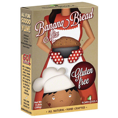 Bumbalooza Gluten Free Banana Bread Mix, 13.8 oz, (Pack of 6)