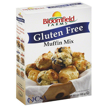 Bloomfield Farms Gluten Free Muffin Mix, 18.5 oz, (Pack of 6)