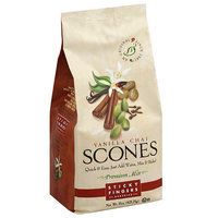 Sticky Fingers Bakeries Vanilla Chai Scones Mix, 15 oz, (Pack of 6)