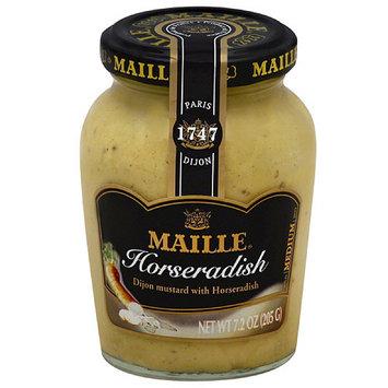 Maille Horseradish Mustard, 7.2 oz, (Pack of 6)