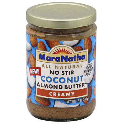 MaraNatha Creamy Coconut Almond Butter, 12 oz, (Pack of 12)