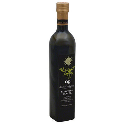 Qo Quebrada de los Olivos Gold Blend Extra Virgin Olive Oil, 17 fl oz (Pack of 6)