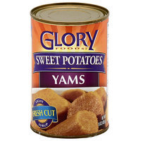 Glory Foods Sweet Potatoes Yams, 15 oz, (Pack of 12)