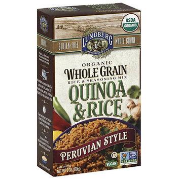 Lundberg Family Farms Peruvian Style Quinoa & Rice Rice & Seasoning Mix, 6 oz, (Pack of 6)