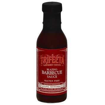 Trifecta Gourmet Trifecta Blazing Barbecue Sauce, 13.5 oz, (Pack of 6)
